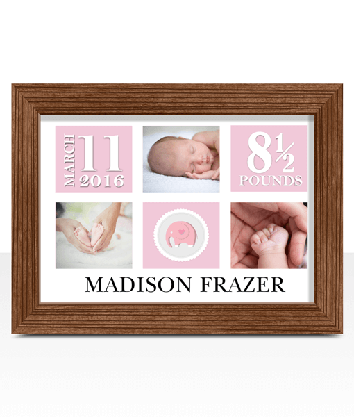 Personalised Baby Girl Photo Gift Baby Shower Gifts