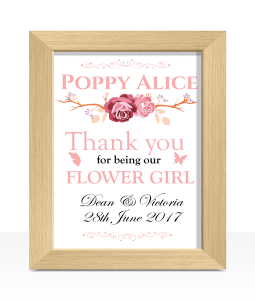 Flower Girl Thank You Wedding Gift Gifts For Children