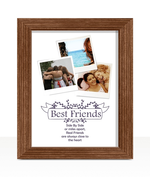 Best Friends Personalised Photo Print Gifts For Friends