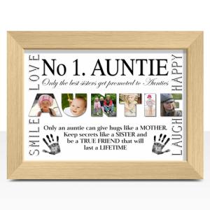 No 1 AUNTIE Photo Print Auntie