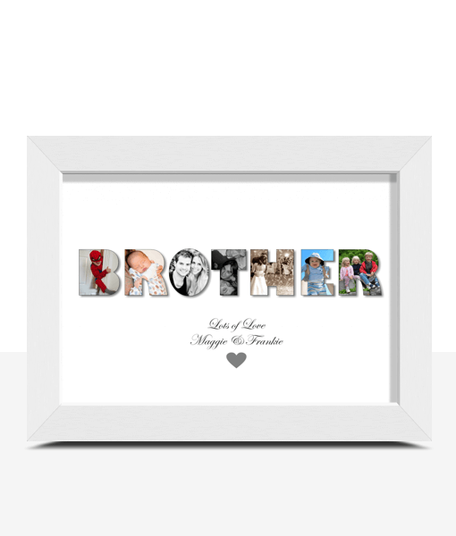 Personalised BROTHER Photo Gift Brother