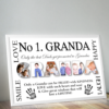 No 1 GRANDA Personalised Photo Gift Fathers Day Gifts