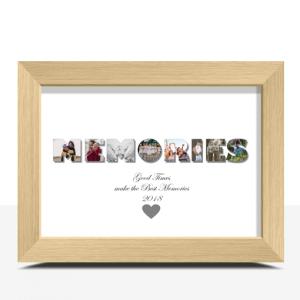MEMORIES Photo Print Family
