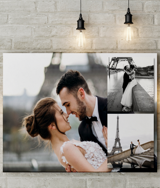 3 Photo Collage Canvas Print Photo Gifts