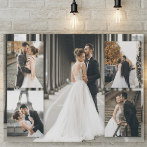 5 Photo Collage Canvas Print Photo Gifts
