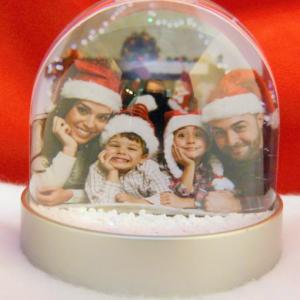 Photo Snow & Glitter Globes Christmas