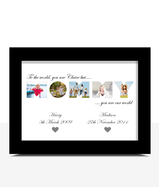 MOMMY Photo Word Art Gift Gifts For Her