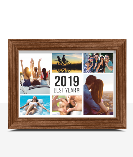 Best Year Ever Photo Print Family