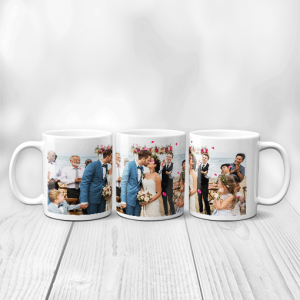 Panoramic Photo Mug Family