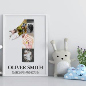 Personalised Baby First Birthday Gift Baby Shower Gifts