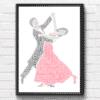 Ballroom Dancers Gift  – Dancing Couple Word Art Dance