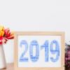 Personalised 2019 Word Art Print Anniversary Gifts