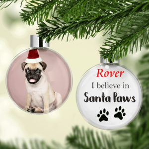 Personalised Pet Christmas Photo Bauble Christmas