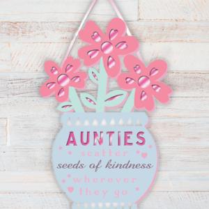 Auntie Wooden Plaque Aunt
