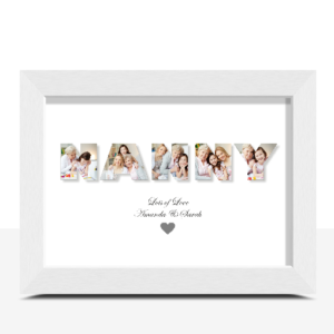 Personalised NANNY Photo Gift Print Gifts For Grandparents