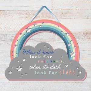 Rainbow – Positivity Plaque