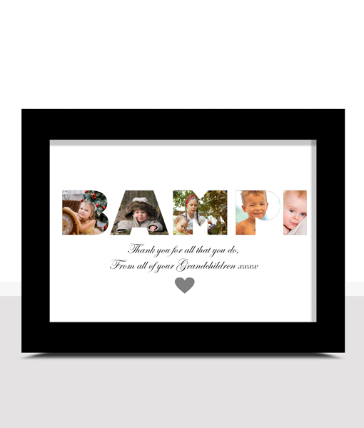 Personalised BAMPI Photo Gift Fathers Day Gifts
