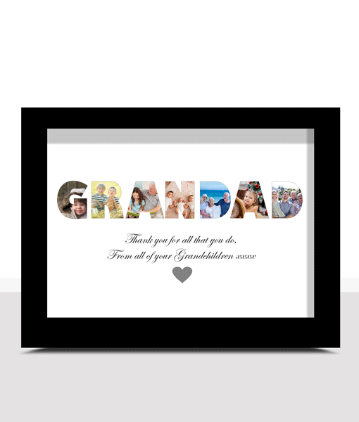 Personalised GRANDAD Photo Gift Fathers Day Gifts
