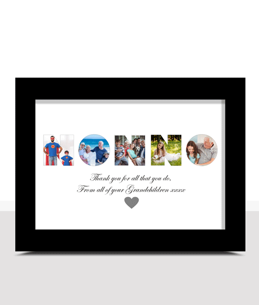 Personalised NONNO Photo Gift Gifts For Grandparents