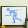Roller Derby Word Art Sport