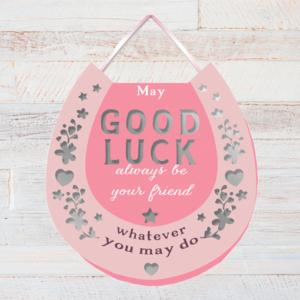 Good Luck Horse Shoe – Plaque Good Luck Gifts