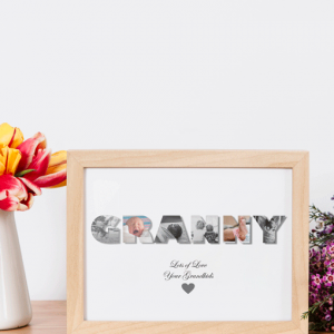 Personalised GRANNY Photo Gift Gifts For Grandparents