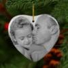 Ceramic Heart – Photo Christmas Decorations Christmas
