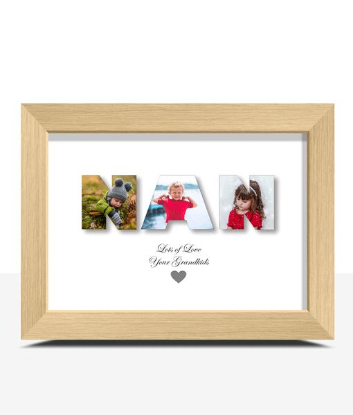 Personalised NAN Photo Gift Gifts For Grandparents