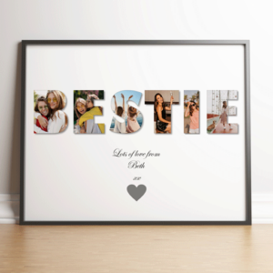 BESTIE – Personalised Photo Gift Gifts For Friends