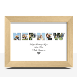 NEPHEW – Personalised Photo Gift Gifts For Him